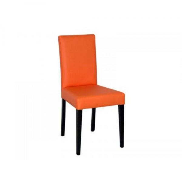 Stol SCALA (oranžno-rjav)
