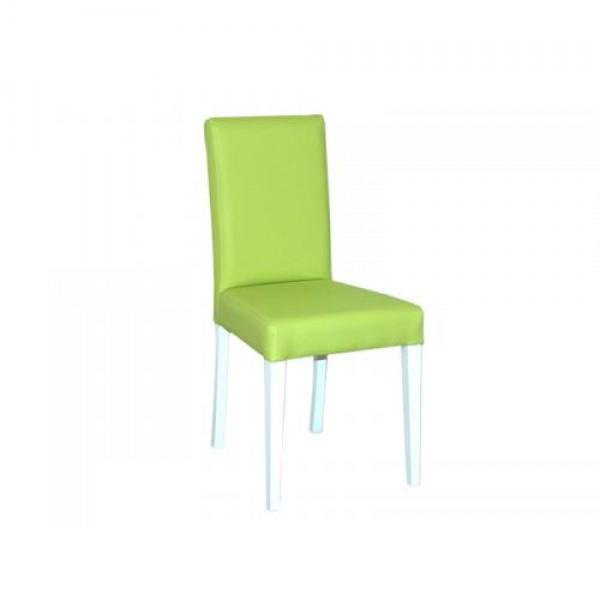 Stol SCALA (zeleno-bel)