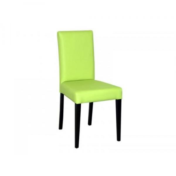 Stol SCALA (zeleno-rjav)