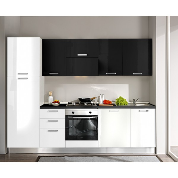 Komplet kuhinja 4H25S, 270 cm