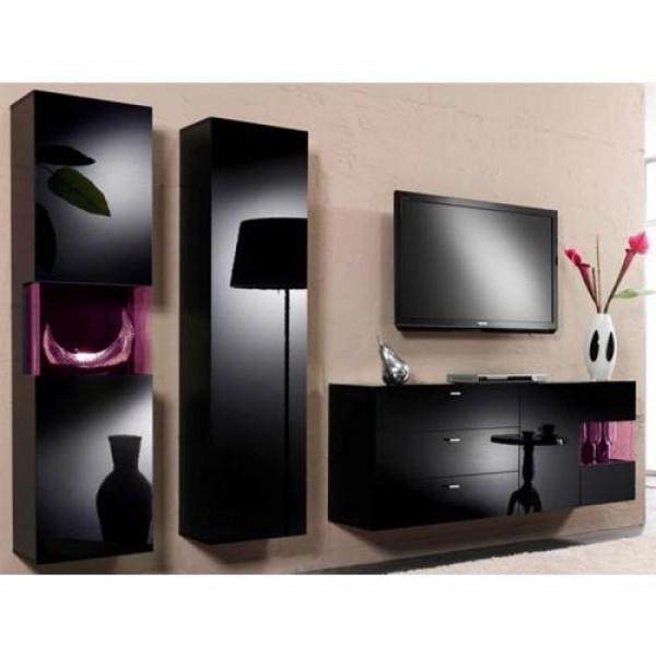 Dnevna soba KARL (črna) - slika je simbolična