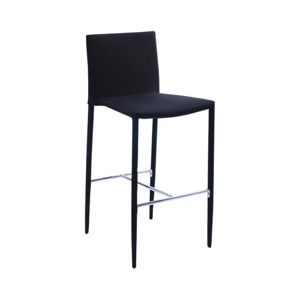Barski stol ELBA - črn