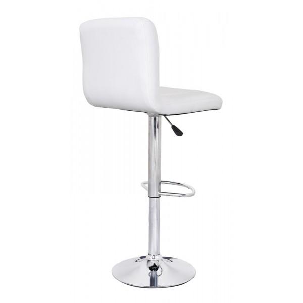 Barski stol Hot: bela