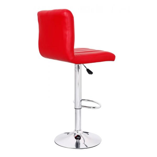 Barski stol Hot: rdeča