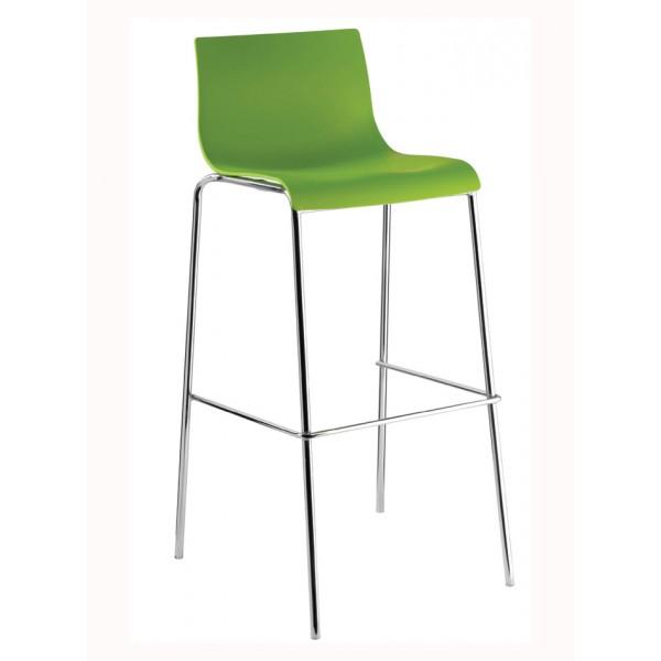 Barski stol Ilija: zelena