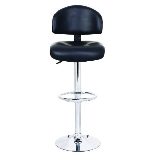 Barski stol OLAF - črna