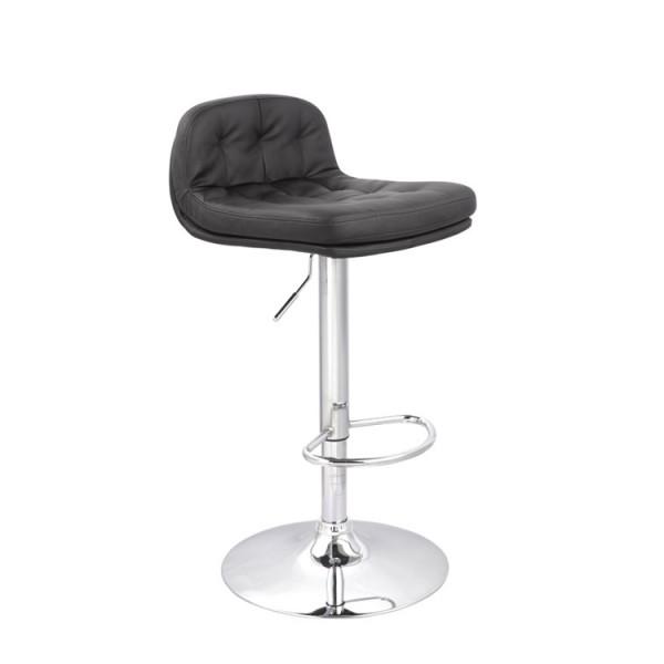 Barski stol SPORT - črn