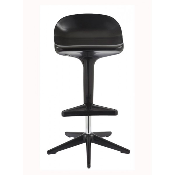 Barski stol Triangle: črna