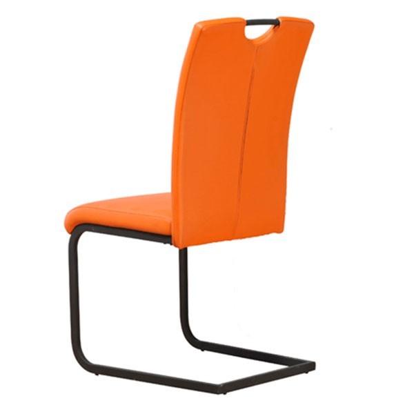 Jedilni stol Paolo - oranžna