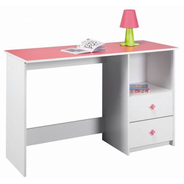 Računalniška miza CASTOR - roza