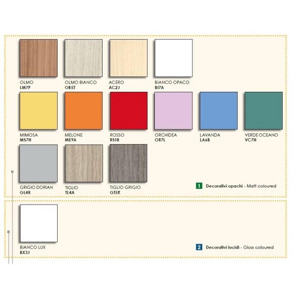 Otroška soba Colombini Volo C118 - barve