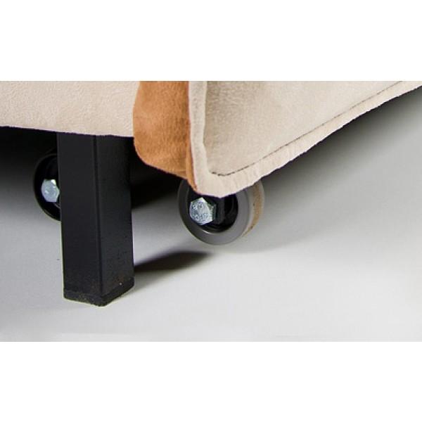 Multifunkcijski počivalnik Novelty z ležiščem - gumijasti koleščki