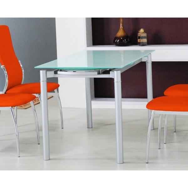 Raztegljiva steklena jedilna miza TL-1128A