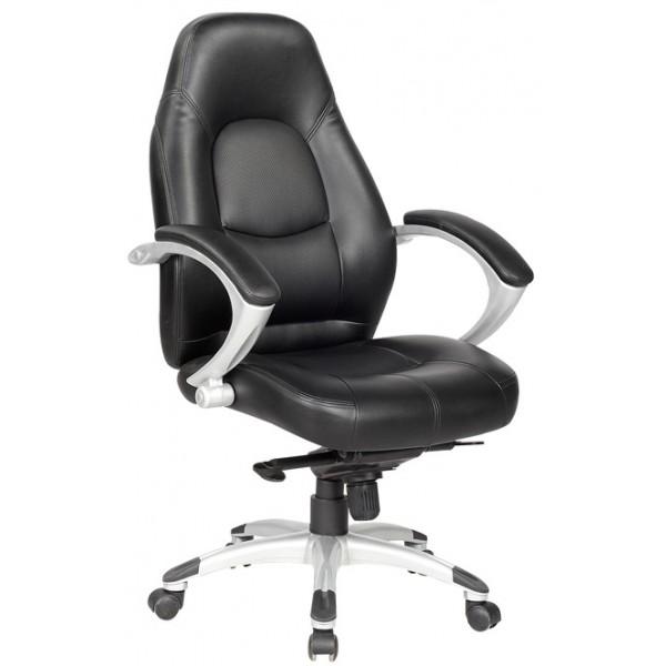 Pisarniški stol K-8332A - črn