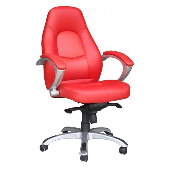 Pisarniški stol K-8332A - rdeč