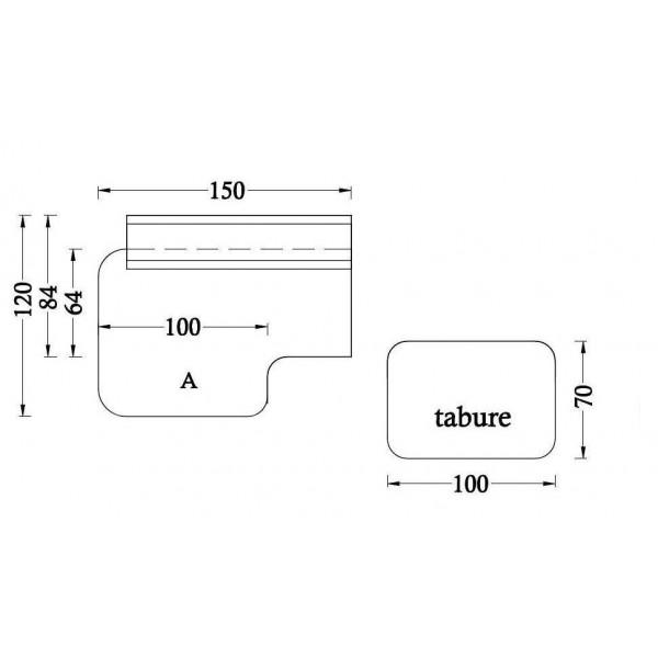 Osnovni element A + tabure