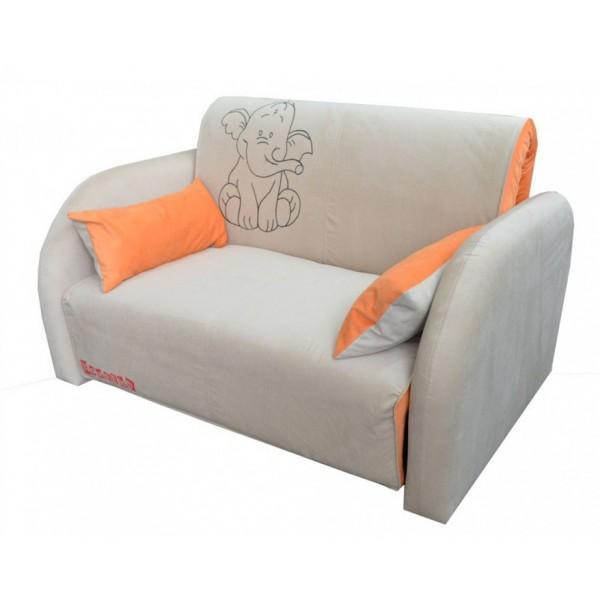 Multifunkcijski kavč Max z ležiščem - Vzorec: Elephant