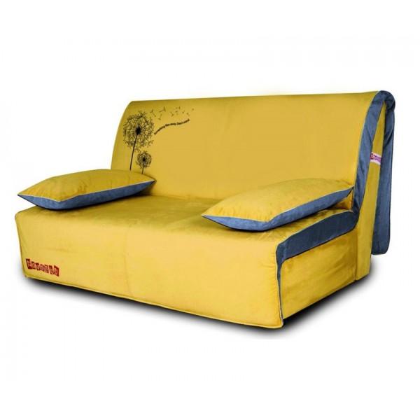 Multifunkcijski kavč Novelty z ležiščem - Vzorec: Dandelion