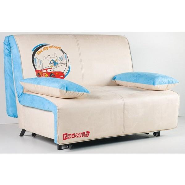 Multifunkcijski kavč Novelty z ležiščem - Vzorec: McQueen color