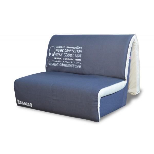 Multifunkcijski kavč Novelty z ležiščem - Vzorec: Music