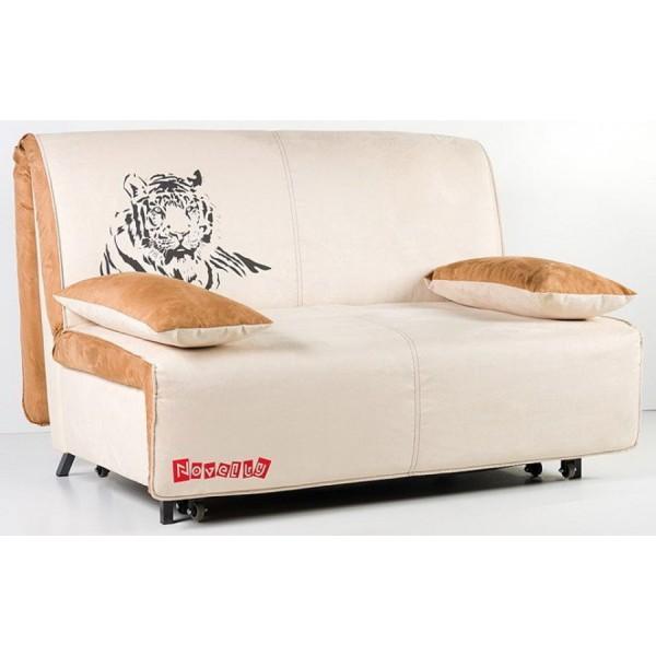 Multifunkcijski kavč Novelty z ležiščem - Vzorec: Tiger