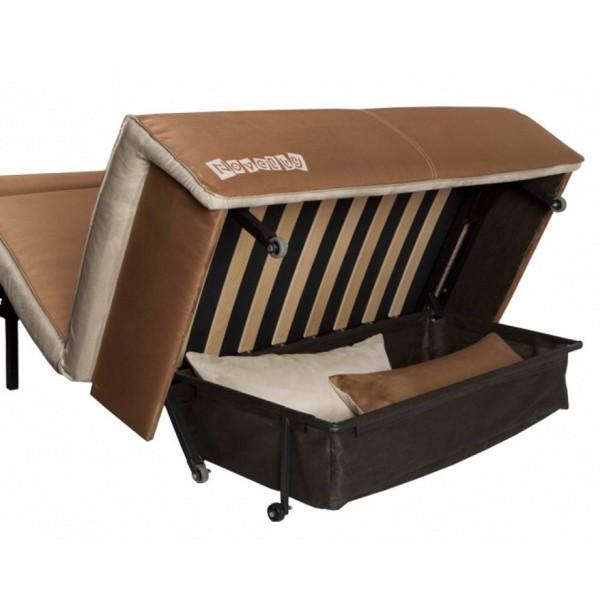 Multifunkcijski kavč Novelty z ležiščem - Predal