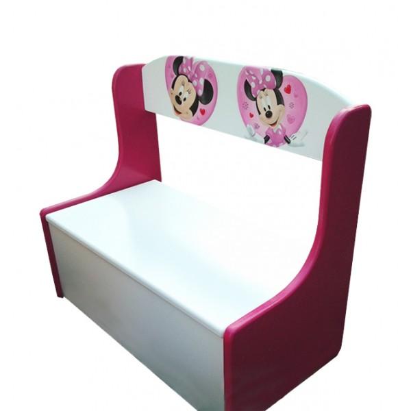 Klopica Miki Miška (roza-bela)