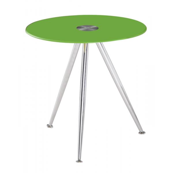 Klubska mizica Karlos - zelena