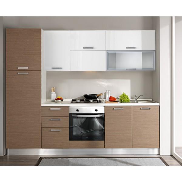 Komplet kuhinje 1807S, 255 cm