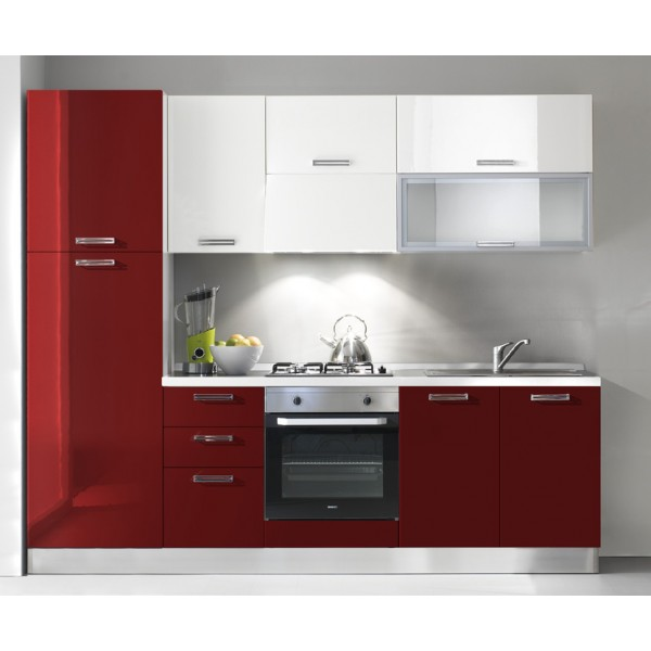 Komplet kuhinja 2121S, 255 cm