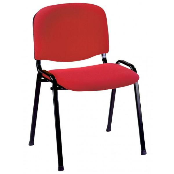Konferenčni stol KS03 mikrotkanina: rdeča