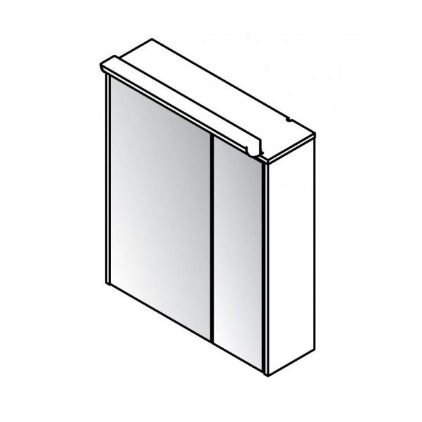 Viseča omara z ogledalom: 82066
