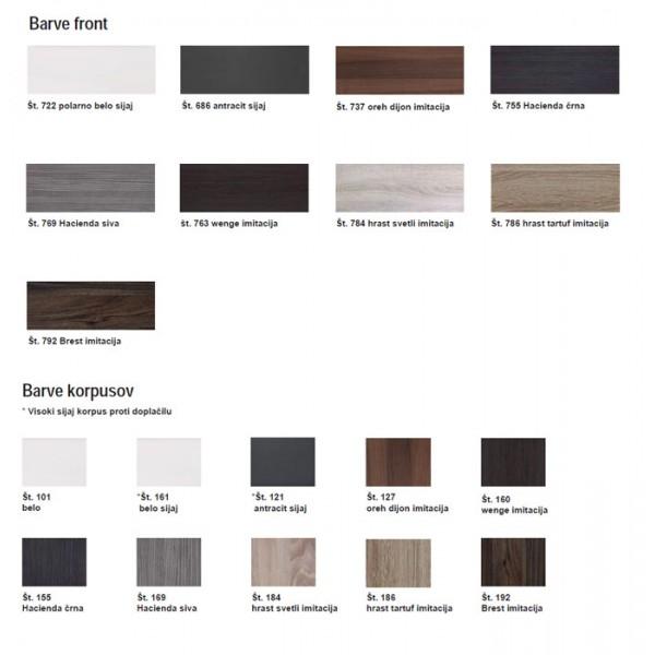 Kopalniški blok Speed A1 - barve