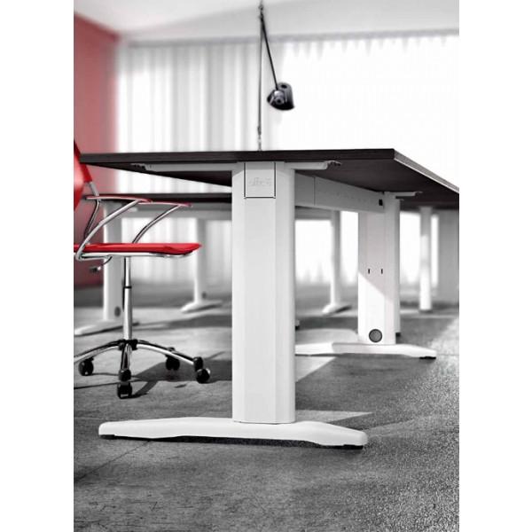 Kotna pisalna miza TK01 240x200 - od strani