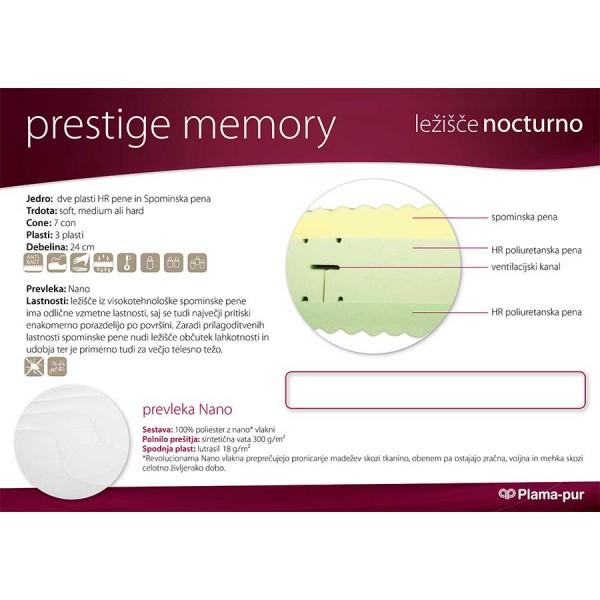 Lastnosti ležišča Prestige Memory