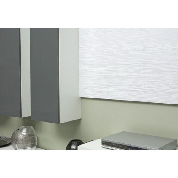 Dnevna soba stenski sestav LIFE 300 cm (belo-siva)
