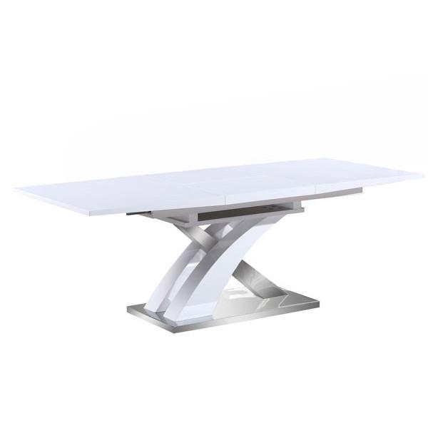 Raztegljiva jedilna miza Solution - bela