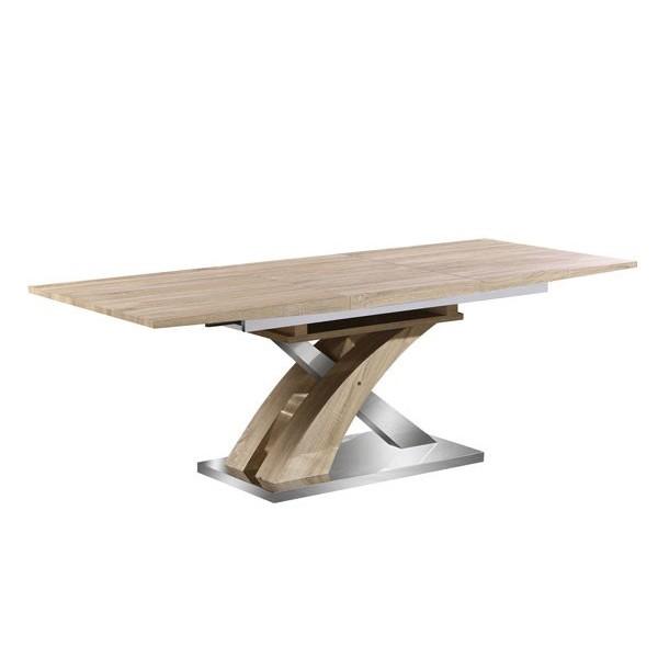Raztegljiva jedilna miza Solution - sonoma hrast