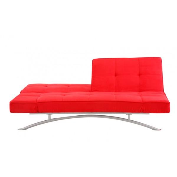 Multifunkcijski kavč Atlanta: rdeča
