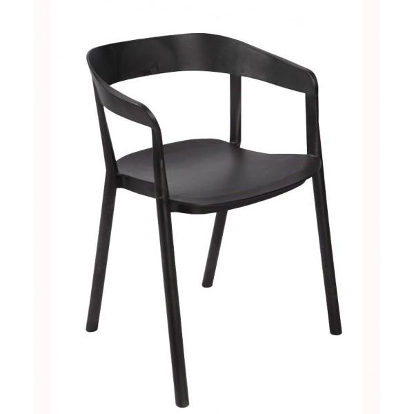 Nakladalni stol Media: črna