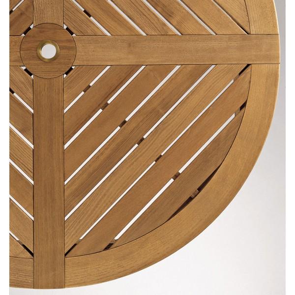 Okrogla vrtna miza Dream: detajl