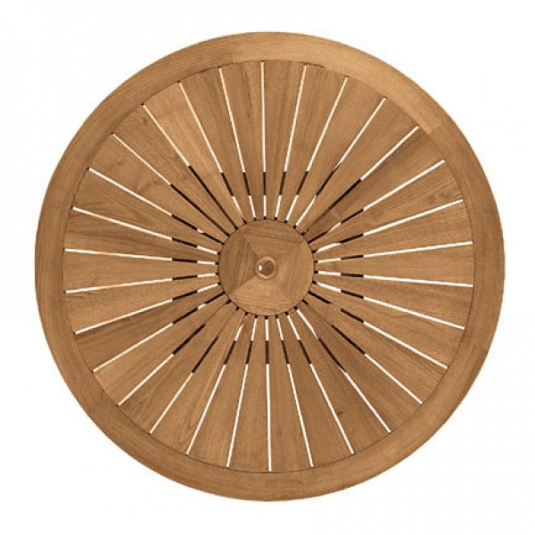 Okrogla vrtna miza Eclypse: z vrha
