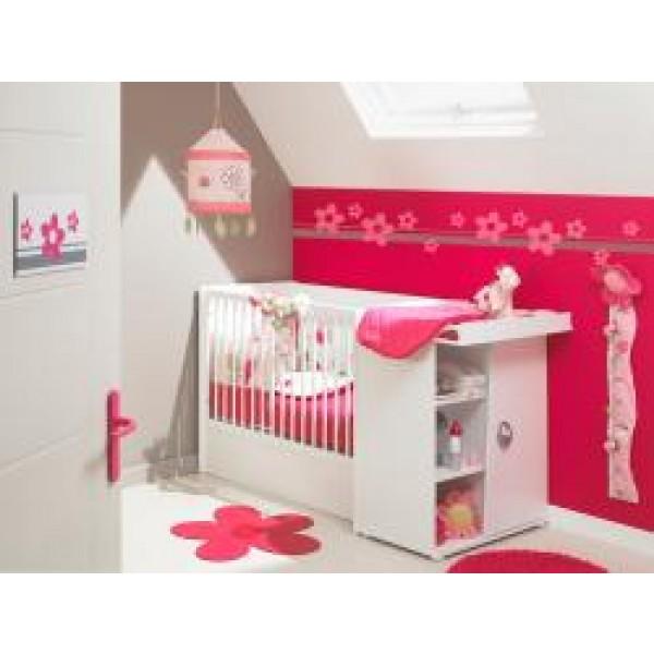 Postelja za dojenčke - bela