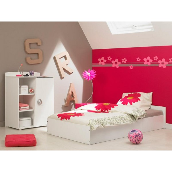 Otroška postelja - bela