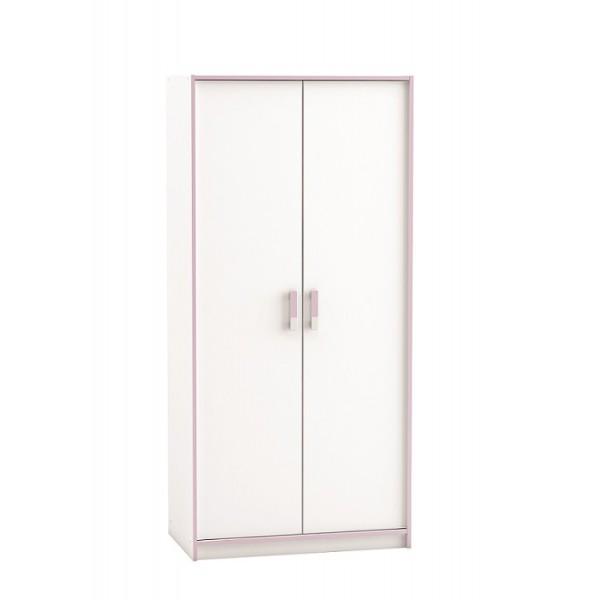 Dvodelna otroška omara Switch 121492 - z roza detajli
