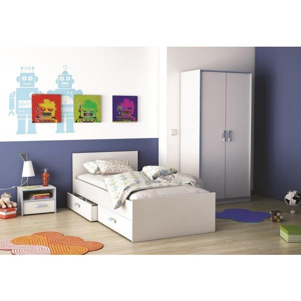 Otroška soba SWITCH - z modra detajli