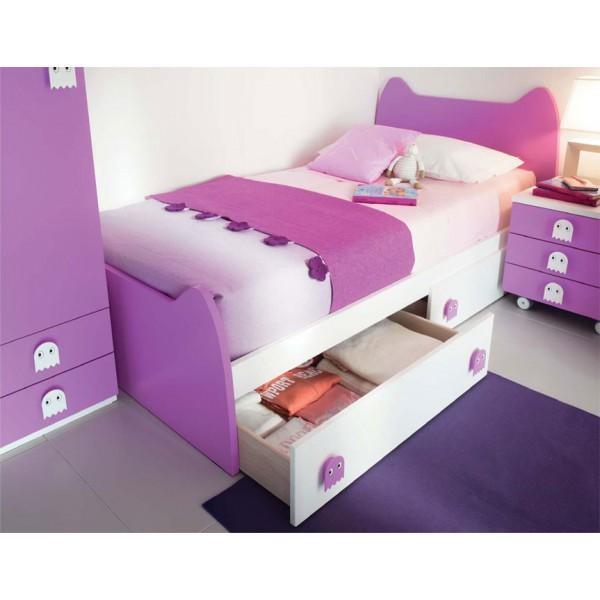 Otroška postelja Cat s predaloma
