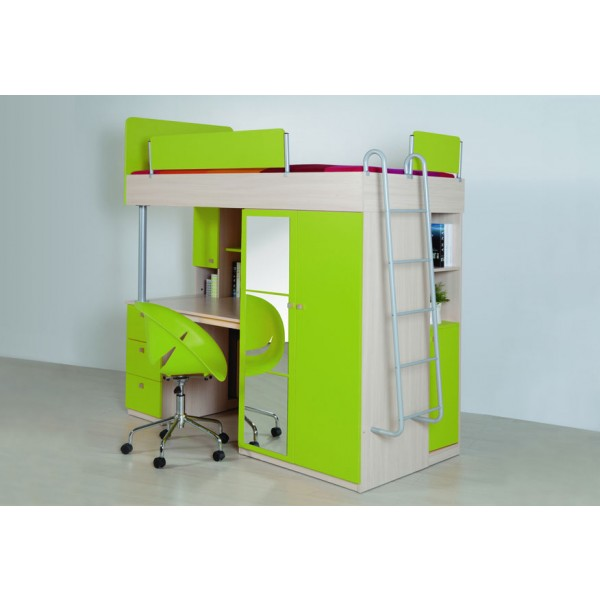 Otroška soba Compact: zelena