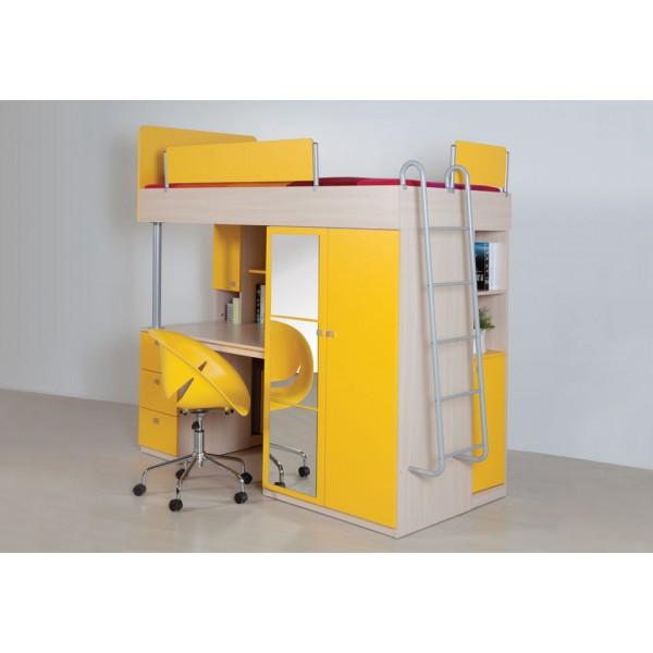 Otroška soba Compact: rumena