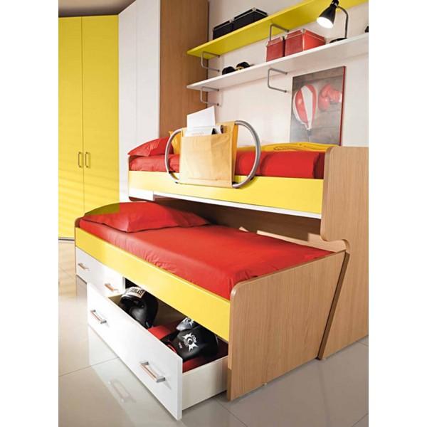Otroška soba Colombini Volo V309 - postelja